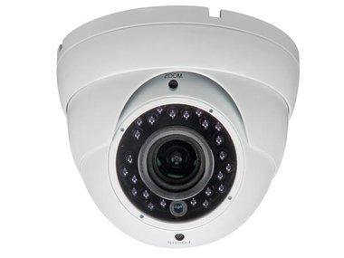 HD CCTV-CAMERA - HD-TVI - GEBRUIK BUITENSHUIS - DOME - IR - VARIFOCALE LENS - 1080P (CAMTVI5)