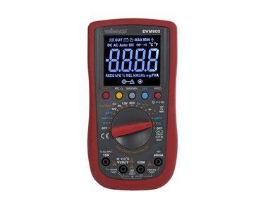 DIGITALE MULTIMETER - CAT III 700 V / CAT IV 600 V - 15A - AUTO - True RMS - NCV - 6000 COUNTS + meetsnoeren TLM72 (DVM900)
