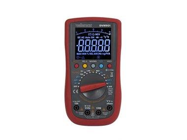 DIGITALE MULTIMETER - CAT III 700 V / CAT IV 600 V - 15A - AUTO - TRUE RMS - NCV - 40000 COUNTS + meetsnoeren TLM72 (DVM901)