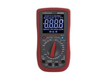 DIGITALE MULTIMETER - CAT III 700 V / CAT IV 600 V - 15A - True RMS - NCV - 6000 COUNTS + meetsnoeren TLM72 (DVM902)
