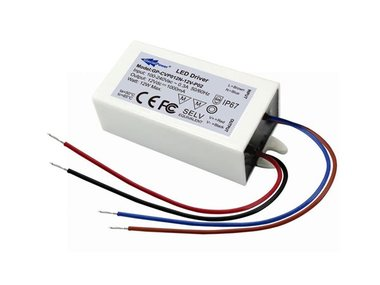 LED POWER SUPPLY SINGLE OUTPUT 12 VDC 12 W (GP-CVP012N-12V)