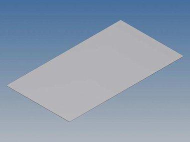ALUMINIUM PANEEL VOOR TK-REEKS - ZILVER - 130.6 x 72 x 0.5 mm (TKAPPTK1)