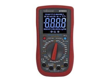 DIGITALE MULTIMETER - CAT II 700 V / CAT IV 600 V - 15 A - TRUE RMS - NCV - 6000 COUNTS + meetsnoeren TLM72 (DVM903)