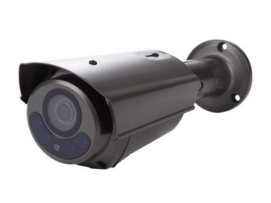 HD CCTV-CAMERA - HD-TVI - GEBRUIK BUITENSHUIS - CILINDRISCH - IR - VARIFOCALE LENS - GEMOTORISEERD - 1080P - GRIJS (CAMTVI12G)