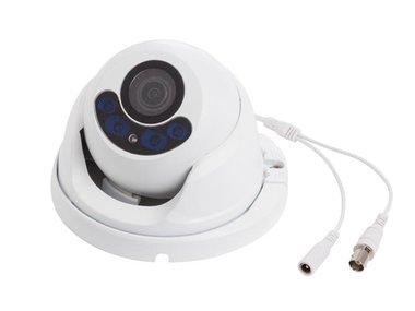 HD CCTV-CAMERA - HD-TVI - GEBRUIK BUITENSHUIS - DOME - IR - VARIFOCALE LENS - GEMOTORISEERD - 1080P (CAMTVI13)