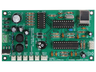 1-KANAALS STAPPENMOTORKAART MET USB-INTERFACE (K8096)