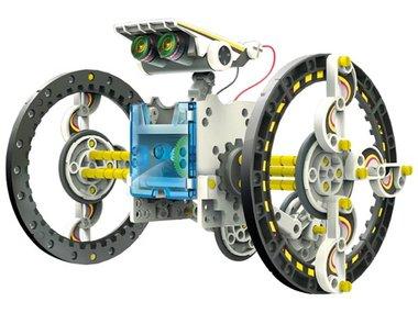 EDUCATIEVE ROBOTKIT OP ZONNE-ENERGIE - 14-IN-1 (KSR13)