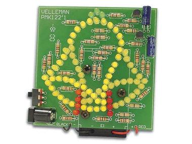 GEANIMEERDE KLOK MET 83 LEDs (MK122)