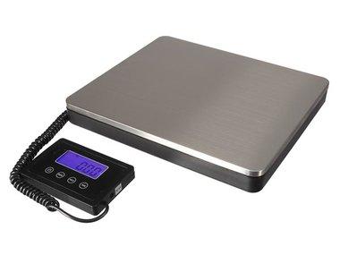 DIGITALE POSTWEEGSCHAAL MET AFNEEMBAAR DISPLAY - 100 kg / 50 g (VTBAL501)