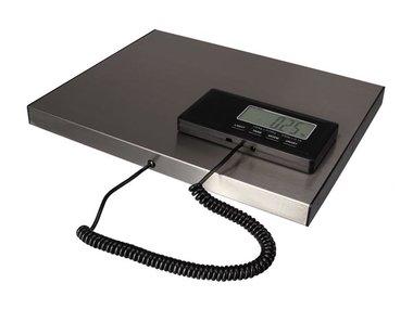 DIGITALE POSTWEEGSCHAAL MET AFNEEMBAAR DISPLAY - 150 kg / 50 g (VTBAL502)