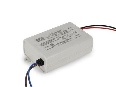 CONSTANT CURRENT LED DRIVER - SINGLE OUTPUT - 350 mA - 25 W (APC-35-500)