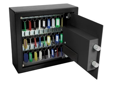 SLEUTELKLUIS - 28 x 30 x 10 cm - 30 sleutels (BG80021)