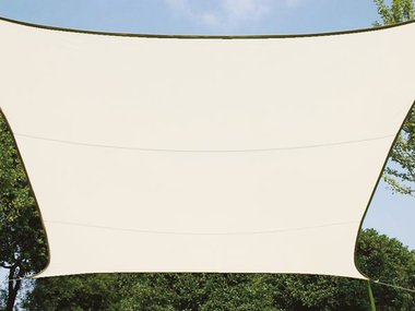 ZONNEZEIL - RECHTHOEK  - 4 x 3 m - KLEUR: CRÈME (GSS4430CR)