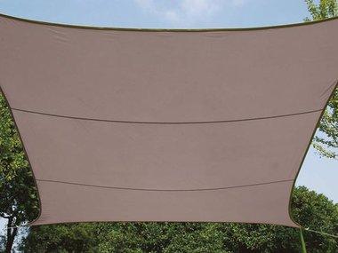 ZONNEZEIL - RECHTHOEK - 4 x 3 m - KLEUR: TAUPE (GSS4430TA)