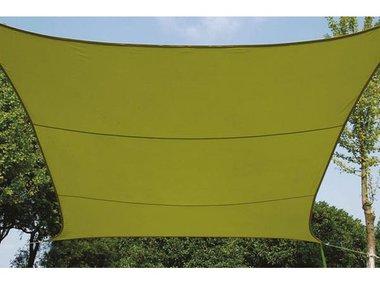 ZONNEZEIL - VIERKANT - 5 x 5 m - KLEUR: LICHTGROEN (GSS4500LG)