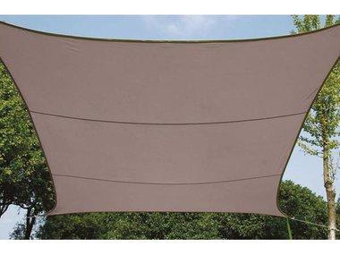 ZONNEZEIL - VIERKANT - 5 x 5 m - KLEUR: TAUPE (GSS4500TA)