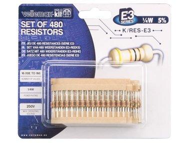 SET WEERSTANDEN - E3-REEKS - 480 st. - 10E TOT 1M (K/RES-E3)