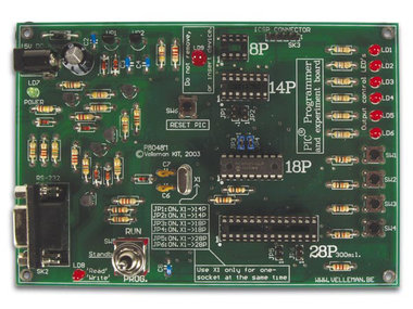 PIC® PROGRAMMER EN EXPERIMENTEERBORD (K8048)