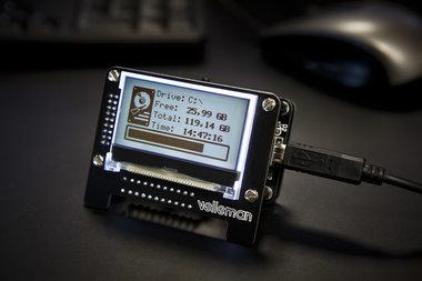 USB-BERICHTENSCHERM (K8101)