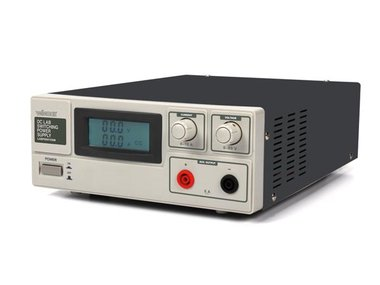 SCHAKELENDE DC-LABOVOEDING 0-60 VDC / 0-15 A MAX. MET LCD-DISPLAY (LABPS6015SM)
