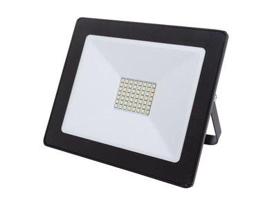 LED-SCHIJNWERPER VOOR BUITENSHUIS - 50 W, NEUTRAALWIT - ZWART (LEDA6005NW-B)