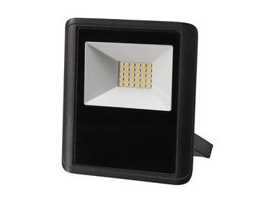 LED-SCHIJNWERPER VOOR BUITENSHUIS - 20 W, NEUTRAALWIT - ZWART (LEDA7002NW-B)