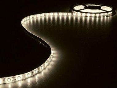 KIT MET FLEXIBELE LED-STRIP EN VOEDING - WARMWIT - 180 LEDS - 3 m - 12 VDC (LEDS14WW)
