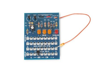 MADLAB ELECTRONIC KIT - 1-2-3 (MLP102)