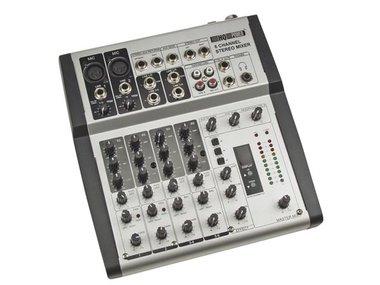 MENGPANEEL - 6 KANALEN - DIGITALE REVERB / ECHO (PROMIX66N)