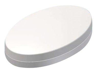PLASTIC HANDHELD ENCLOSURE - OVOTEK WHITE - 165.3 x 103.2 x 38.5 mm (TKOK17)