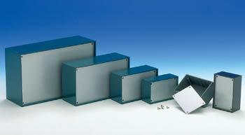 PLASTIC OPTATIVE BEHUIZING - PETROLEUMBLAUW 215 x 130 x 77mm (TKP4B)