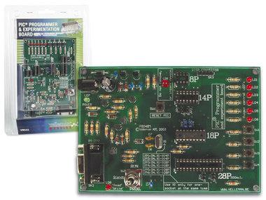 PIC® PROGRAMMER EN EXPERIMENTEERBORD (VM111)