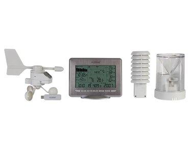 PROFESSIONEEL DRAADLOOS WEERSTATION OP ZONNE-ENERGIE MET DATAPROCESSING VIA USB (WS2800)