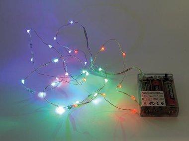 LEDSLINGER - RGB - 20 LEDS - OP BATTERIJEN (XML19RGB)