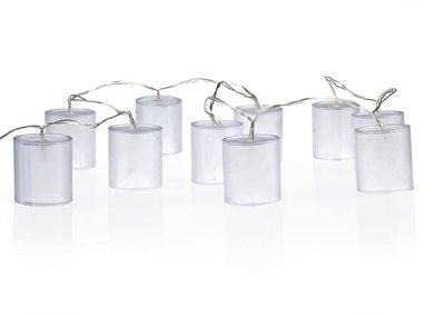 LEDSLINGER - CILINDERVORMIGE LICHTJES MET HOLOGRAMEFFECT (XMPL9)