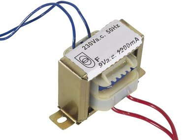 OPEN-CHASSIS TRANSFORMATOR 10.8VA 1 x 9V 1200mA (109010C)