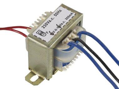 OPEN-CHASSIS TRANSFORMATOR 3.6VA 2 x 6V 250mA (206003C)