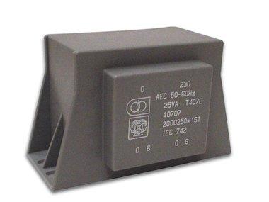 TRANSFORMATOR LAAG PROFIEL 12VA 2 x 15V / 2 x 0.400A (2150120MST)