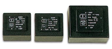 INGEGOTEN TRANSFORMATOR 25VA  2 x 15V / 2 x 0.833A (2150250M)