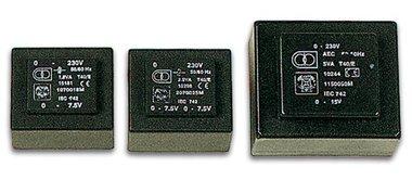 INGEGOTEN TRANSFORMATOR 12VA  2 x 18V / 2 x 0.330A (2180120M)
