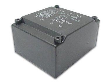 TRANSFORMATOR LAAG PROFIEL 18VA 2 x 24V / 2 x 0.375A (2240180MLP)