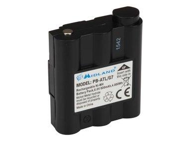 SPARE BATTERY Ni-MH 800mAh for ALN004 & ALN020 (Midland G7) (ALNA017)