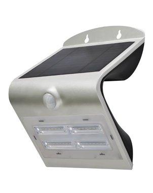 LEDLAMP OP ZONNE-ENERGIE MET PIR-SENSOR - 3.2 W (CSOLBDF)