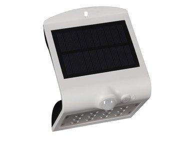 LEDLAMP OP ZONNE-ENERGIE MET PIR-SENSOR - 1.5 W - WIT (CSOLBF)