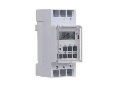 DIGITALE WEEKTIMER - DIN-RAILMONTAGE (EDIN305N)
