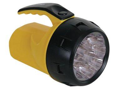 KRACHTIGE LEDZAKLAMP - 9 LEDs - 4 x AA-BATTERIJ (EFL07)