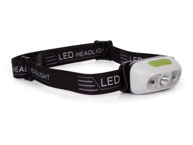 LED-HOOFDLAMP - MET AAN/UIT-SENSOR - OPLAADBAAR (EHL21)