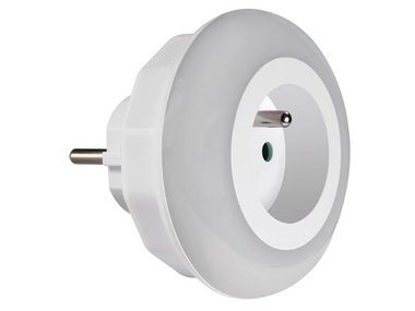 LED-NACHTLAMPJE MET STOPCONTACT - PENAARDE (ENL1)