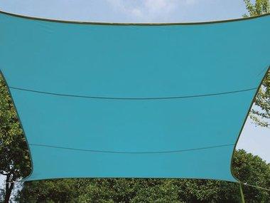 ZONNEZEIL - RECHTHOEK - 4 x 3 m - KLEUR: HEMELSBLAUW (GSS4430BL)