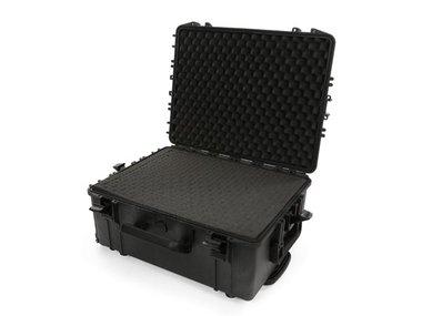 HARDE TROLLEY KOFFER - 604 x 473 x 283 mm - MET PLUKSCHUIM (HC540SH245TR)